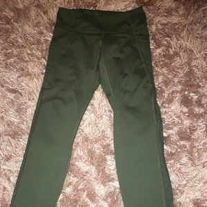 olive/army green leggings